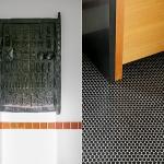 Collingwood Modern Upstairs Bath details | Marion Melbourne marionmelbourne.com